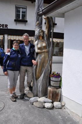 Wandelvakantie Lermoos Cracks Wolvertem  juni 2015