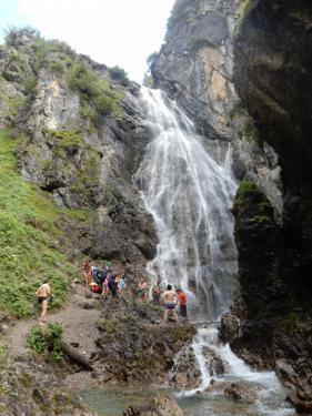 Wandelvakantie Lechtal  augustus 2016